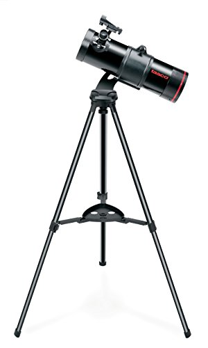 Tasco SpaceStation 114 x 500 mm Reflector Telescope, 9114500, Ideal for Intermediate Amateur Astronomers, Black