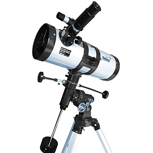 Seben Star-Sheriff incl.'Big-Pack' 1000-114 EQ3 Reflector Telescope