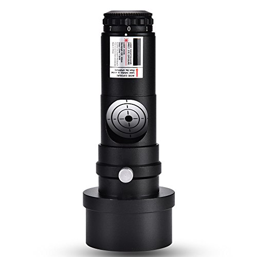 Topiky 1.25inch Laser Collimator 2inch Adapter 7 Bright Levels 1mw Laser Power for Newtonian Marca Telescopes