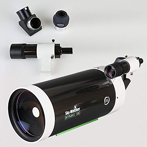 Sky-Watcher Skymax 180mm Maksutov-Cassegrain - Large Aperture Compound-Style Reflector Telescope
