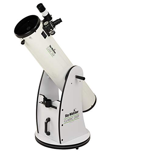 Sky-Watcher Classic 200 Dobsonian 8-inch Aperature Telescope – Solid-Tube – Simple, Traditional Design – Easy to Use, Perfect for Beginners