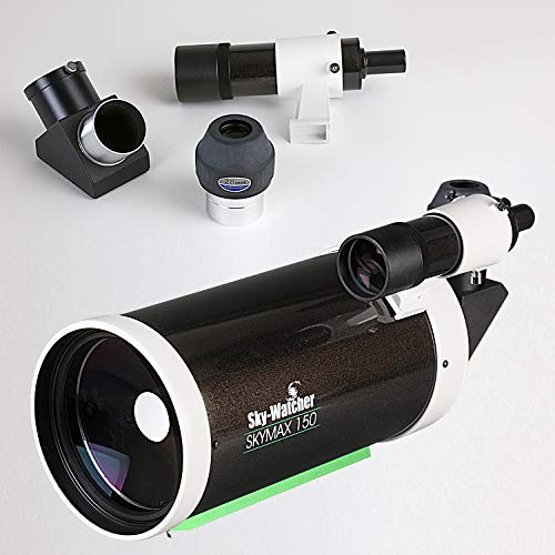 Sky Watcher Skymax 150mm Maksutov-Cassegrain - Large Aperture Compound-Style Reflector Telescope, Black (S11530)