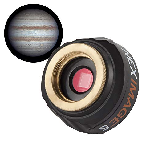 Celestron 93711 NexImage 5MP Micron Digital Clarity Solar System Imager, Black