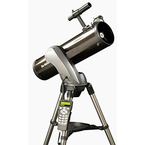 Skywatcher Explorer 130P SynScan AZ GOTO (130 mm (5.1 Inches) f/650 – Computer-Controlled Newtonian Telescope with Parabolic Mirror – Black