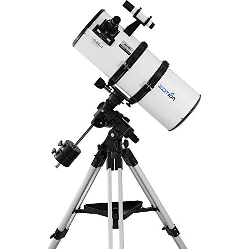 Zoomion Genesis 200/800 EQ-4 Reflecting Telescope for Teenager & Adults - Astronomical Telescope Complete Set for Getting Started in Astronomy