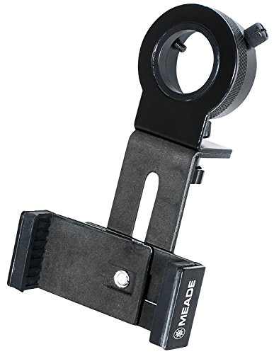 Meade Instruments, 608007 Smart Phone Adapter for all Telescopes, Black