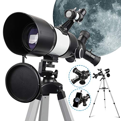 Professional Telescope for Astronomy 80mm Aperture for Kids & Children & Adults Beginners