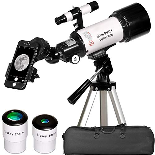 Telescope for Astronomy - Portable and Powerful 16x-120x Travel Scope - Easy to Mount and Use - Ideal for Kids and Beginner Adults - Astronomical Telescope for Moon, Planets and Stargazing